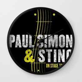 PAUL SIMON ON STAGE TOGETHER TOUR DATES 2019 KAMBOJA Wall Clock