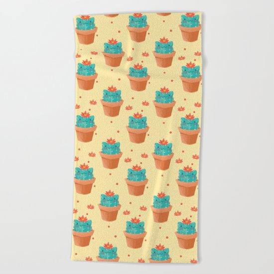 Catcus Beach Towel