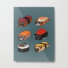 Sushi Boxers Metal Print