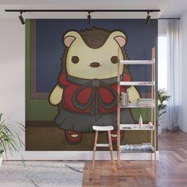 Miss Berta the Hedgehog Teacher Wall Mural