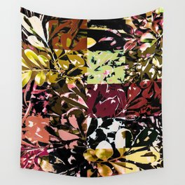 Foliage Patchwork #6 Wall Tapestry