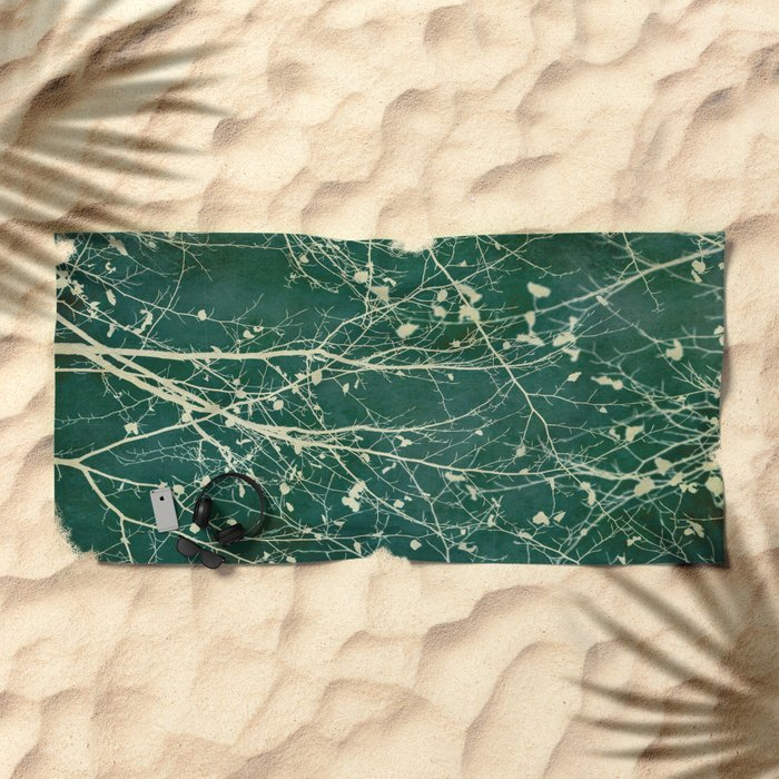 boughs Beach Towel