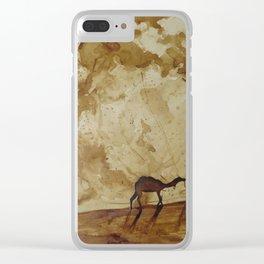 Desert Goers Clear iPhone Case