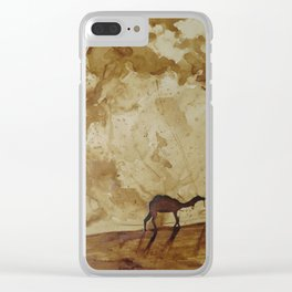 Desert Goers Clear iPhone Case