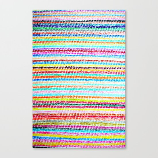 kids crayons Canvas Print