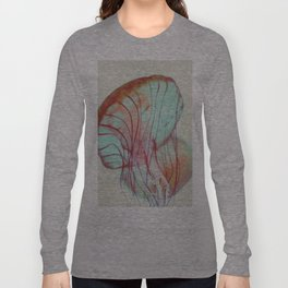 Pink Jellyfish Long Sleeve T-shirt