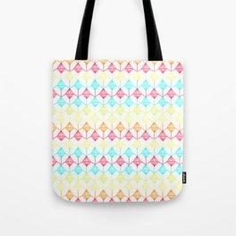 Neon diamonds pattern Tote Bag