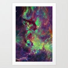 Seahorse Nebula Art Print