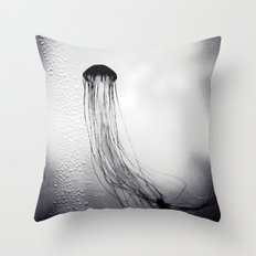 Jellyfish Throw Pillow