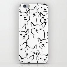 Mate,Friends,French bulldog iPhone & iPod Skin