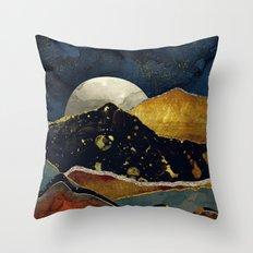 Bronze Night Throw Pillow