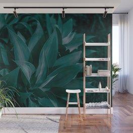 Tropical Jungle Leaves Wall Mural