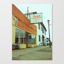 Yakima Laundromat Canvas Print