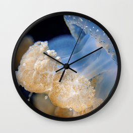 Underwater Macrophotography - Jellyfish Wall Clock