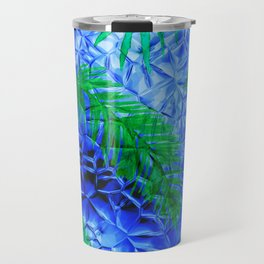 in the blue fern Travel Mug