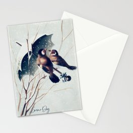 Snow Day - Goldfinch Stationery Cards