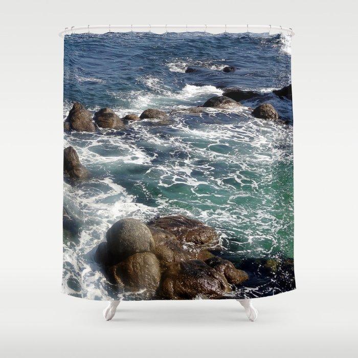 California Coast 01 Shower Curtain