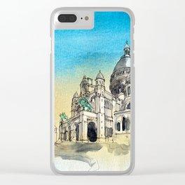 Basilica Sacre Coeur Montmartre Paris Clear iPhone Case