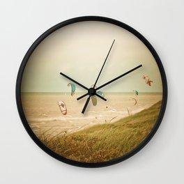 Kitesurf sport Wall Clock