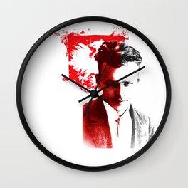 Bohater Rotmistrz Pilecki Wall Clock