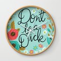Pretty Swe*ry: Don't Be a Dick by cynthiaf