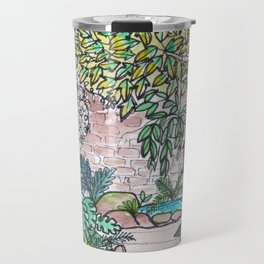 Val's Beautiful Garden Travel Mug