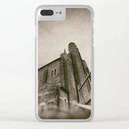 Sherbrooke rchitecture by Jean-François Dupuis Clear iPhone Case