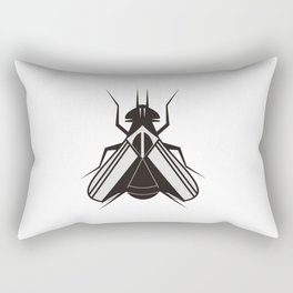 The fly Rectangular Pillow