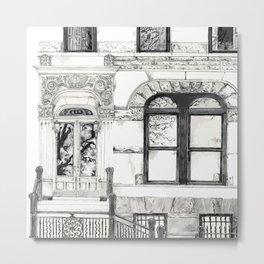 BROOKLYN DOOR Metal Print
