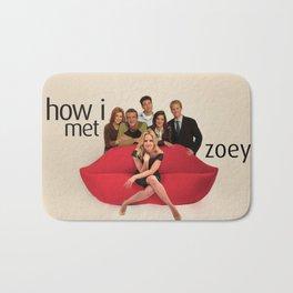 How I Met Zoey Bath Mat