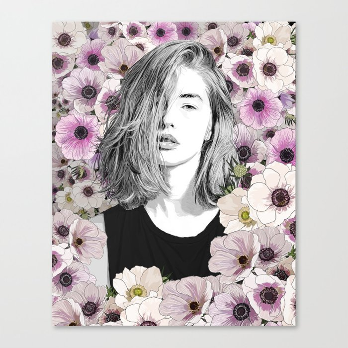 Come with me Canvas Print