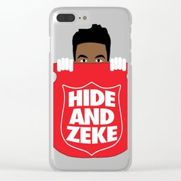 Hide-And-Zeke Clear iPhone Case