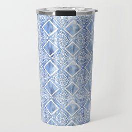 Kahala Flower Chambray Travel Mug
