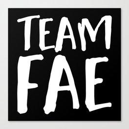 Team Fae - Inverted Canvas Print