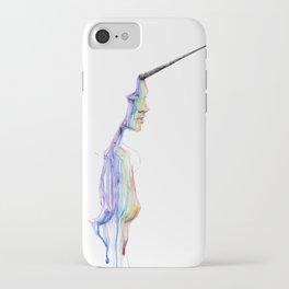 unicorn girl iPhone Case