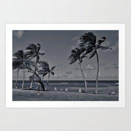 Cuban escape Art Print