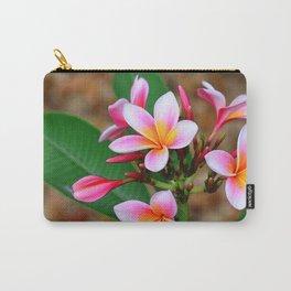 Plumeria Floral Art - Tropical Queen - Sharon Cummings Carry-All Pouch