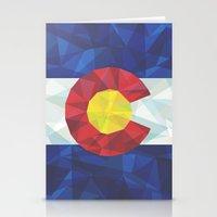 colorado Stationery Cards featuring Colorado by Fimbis