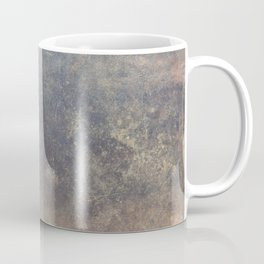 The texture of the metal sheet and coating Coffee Mug