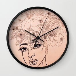 Duo Tone 2 Wall Clock