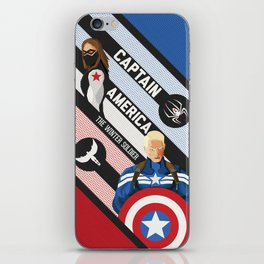The Winter Soldier iPhone Skin