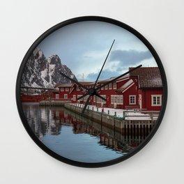 Svolvaer Wall Clock