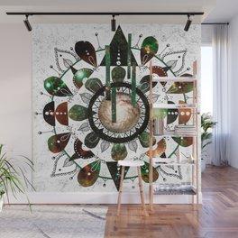 Galaxy Mandala Wall Mural