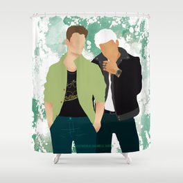 Headstrong Lovers Shower Curtain