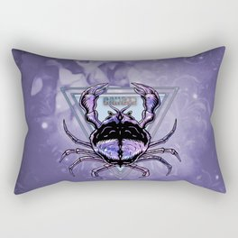 Zodiac sign cancer Rectangular Pillow
