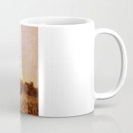 dusty feet on a dirt road afternoon Coffee Mug