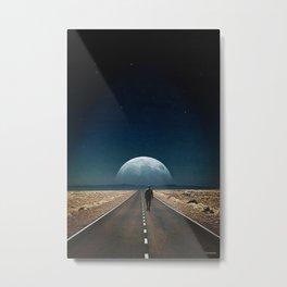 Walking away ... Metal Print