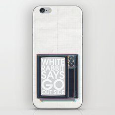 Go Out Side iPhone & iPod Skin
