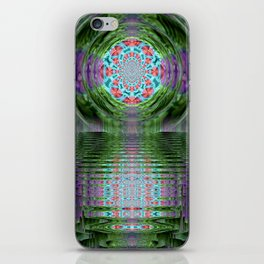 Emerald Sanctuary iPhone Skin