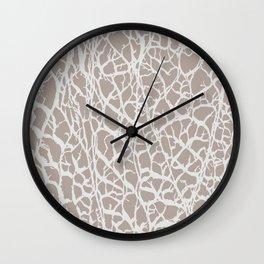 Desert Frost Wall Clock